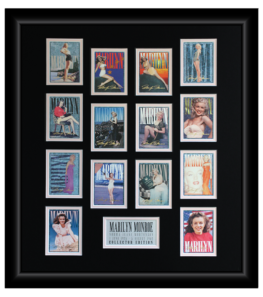 Marilyn Monroe 14 Trading Card Display (1)