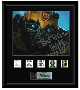 Transformers (Mark Ryan) Autographed Film Cell Display (1)