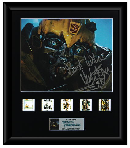 Transformers (Mark Ryan) - Autographed Film Cell Display (1)