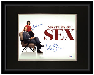 Masters of Sex (Cast) - 11x14 Autographed Display