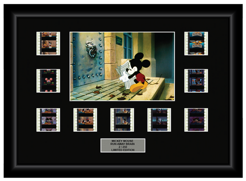 Mickey Mouse Run Away Brain (1995) - 9 Cell Display - ONLY 1 AT THIS PRICE