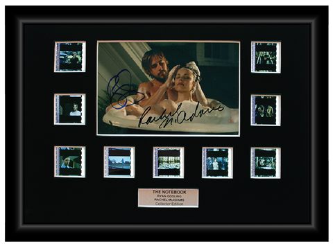 The Notebook (2004) - 9 Cell Autographed Display