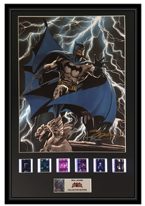 Neal Adams (Batman) - Autographed Film Cell Display