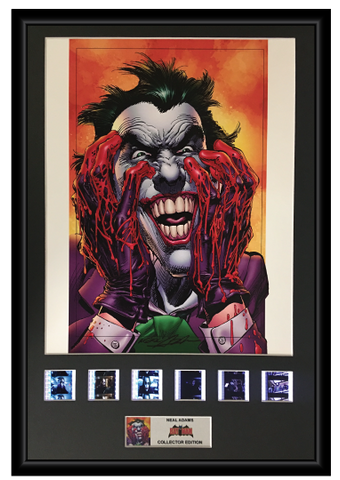 Neal Adams (The Joker) - Autographed Film Cell Display