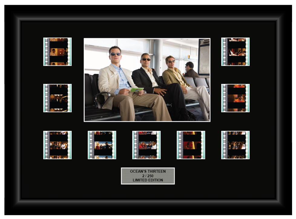 Ocean's Thirteen (2007) - 9 Cell Display