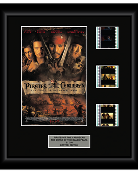 Pirates of the Caribbean - Curse of the Black Pearl (2003) - 3 Cell Display