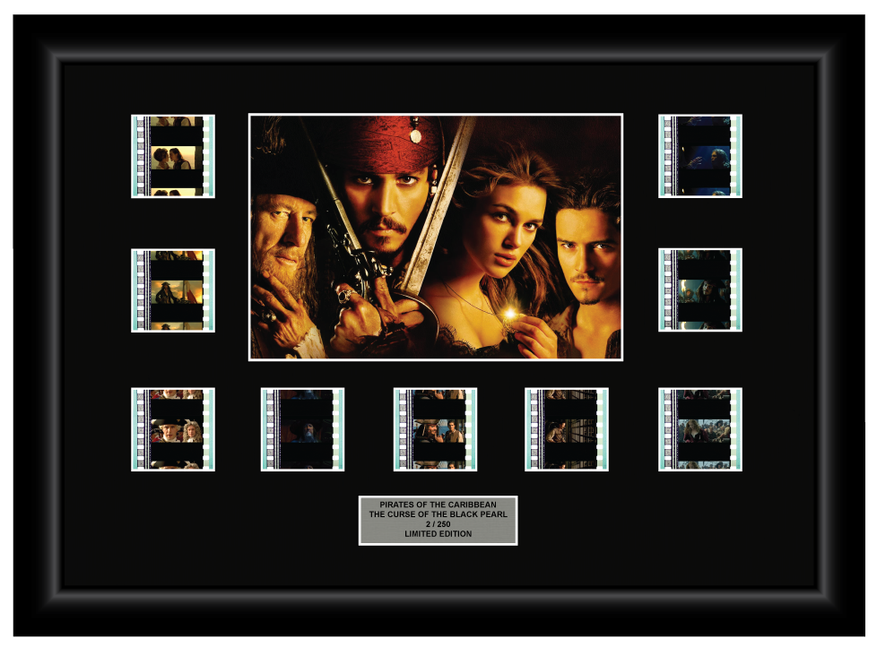 Pirates of the Caribbean - Curse of the Black Pearl (2003) - 9 Cell Display