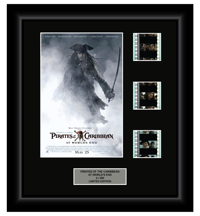 Pirates of the Caribbean - At Worlds End (2007) - 3 Cell Display