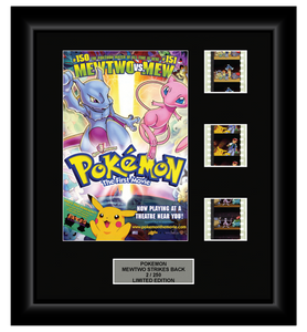 Pokemon: The First Movie Mewtwo Strikes Back (1998) - 3 Cell Display (Series 2)
