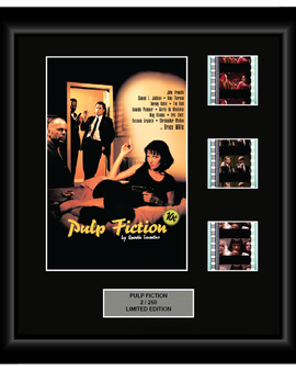Pulp Fiction (1994) - 3 Cell Classic Display
