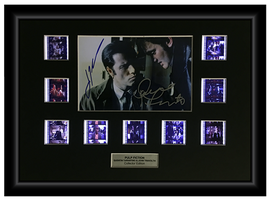 Pulp Fiction (1994) - Autographed 9 Cell Film Display