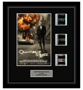 Quantum of Solace (2008) - 3 Cell Display (James Bond)
