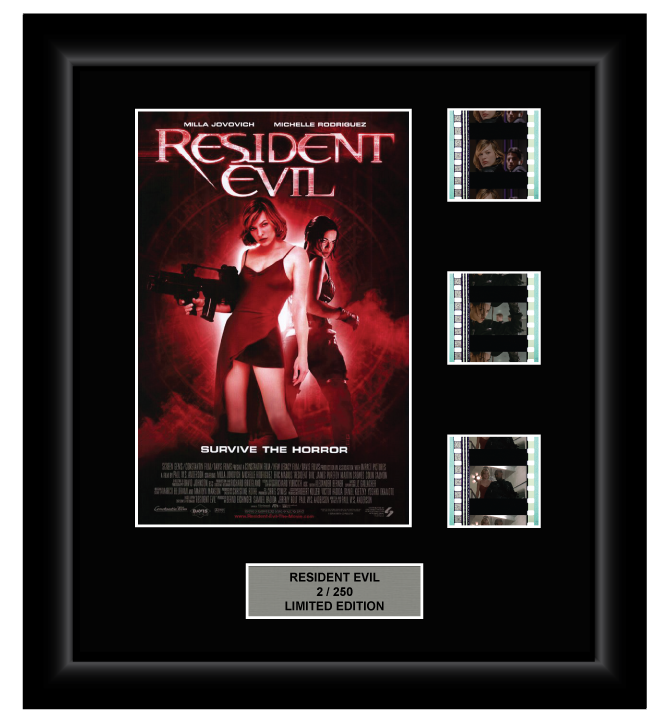 Resident Evil (2002) - 3 Cell Display