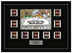 Race For Your Life, Charlie Brown (1977) - 9 Cell Display - ONLY 1 AVAILABLE AT THIS PRICE