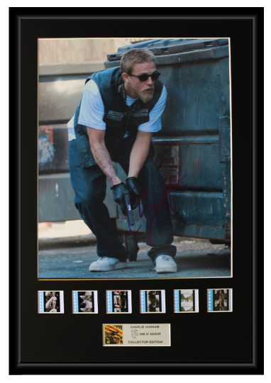 Charlie Hunnam - Sons of Anarchy Autographed Film Cell Display (1)