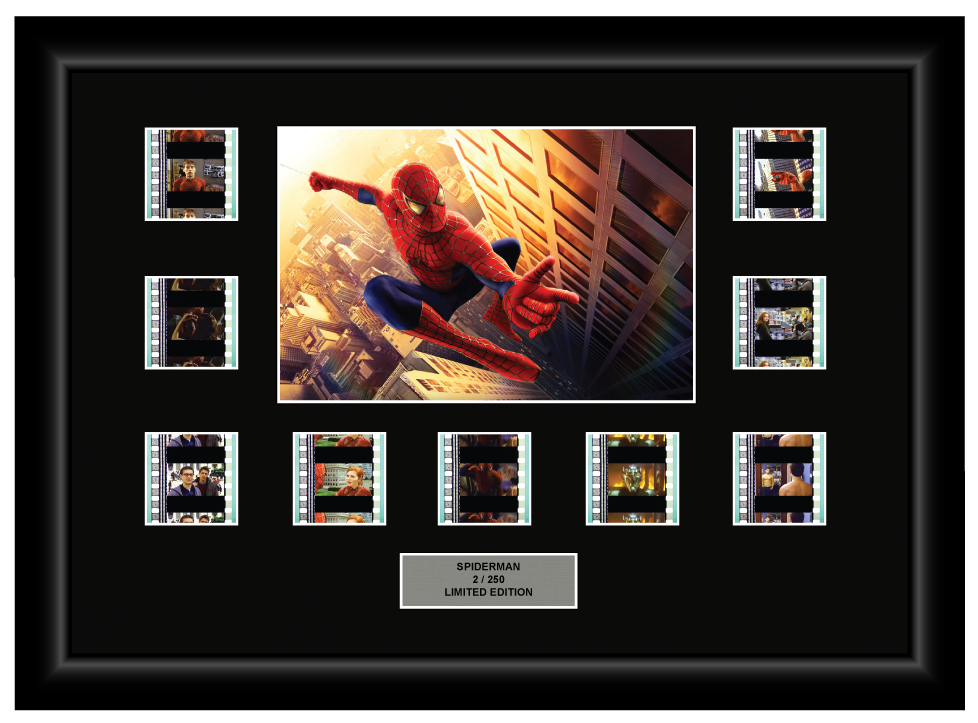 Spiderman (2002) - 9 Cell Display