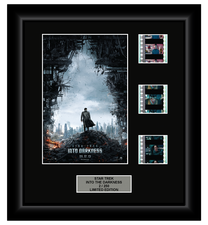Star Trek Into Darkness (2013) - 3 Cell Display