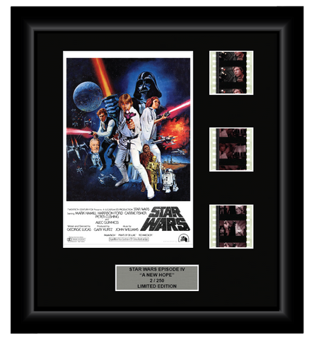 Star Wars Episode IV: A New Hope (1977) - 3 Cell Display