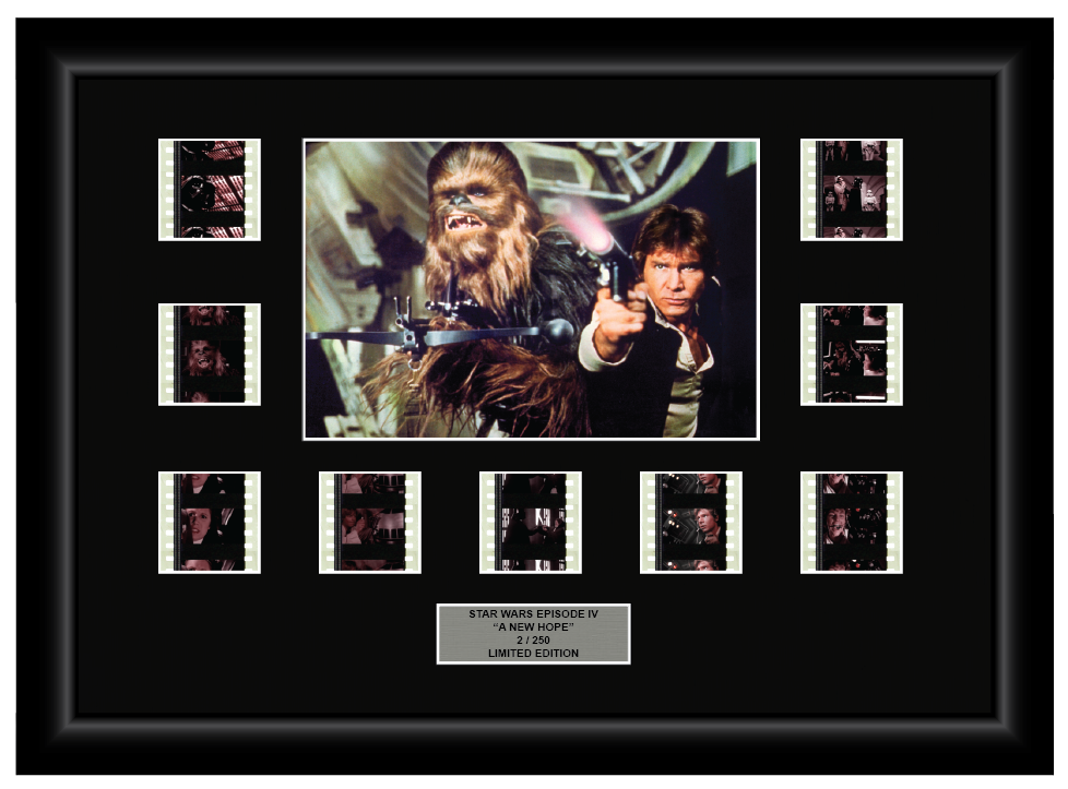 Star Wars Episode IV: A New Hope (1977) - 9 Cell Display