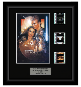 Star Wars Episode II: Attack of the Clones (2002) - 3 Cell Display - ONLY 1 AT THIS PRICE!