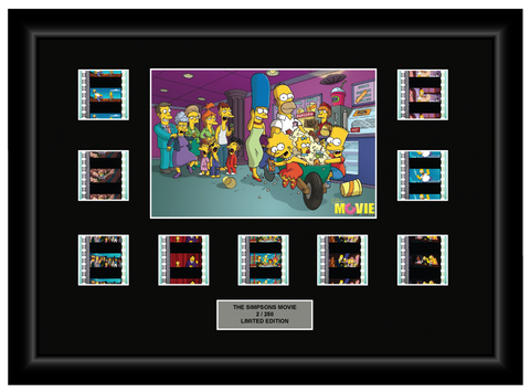 Simpsons Movie (2007) - 9 Cell Display - ONLY 2 AVAILABLE AT THIS PRICE