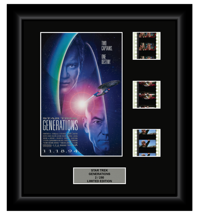 Star Trek: Generations (1994) - 3 Cell Display Film Display