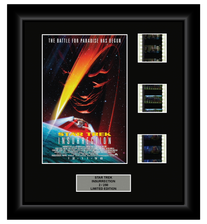 Star Trek: Insurrection (1998) - 3 Cell Display Film Display