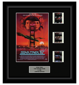 Star Trek: The Voyage Home (1986) - 3 Cell Display Film Display