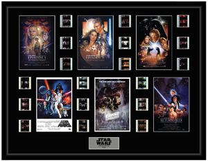 Star Wars Episodes 1 to 6 - 18 Cell Display