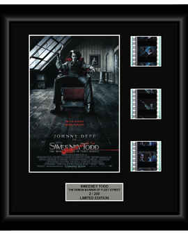 Sweeney Todd: The Demon Barber of Fleet Street (2007) - 3 Cell Display