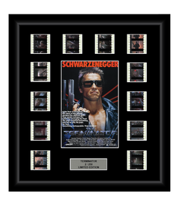 The Terminator (1984) - 12 Cell Film Display - ONLY 3 AT THIS PRICE