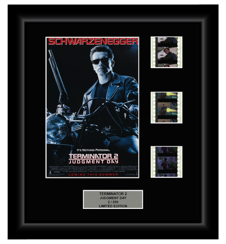 Terminator 2: Judgment Day (1991) - 3 Cell Film Display