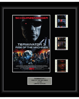 Terminator 3: Rise of the Machines (2003) - 3 Cell Film Display