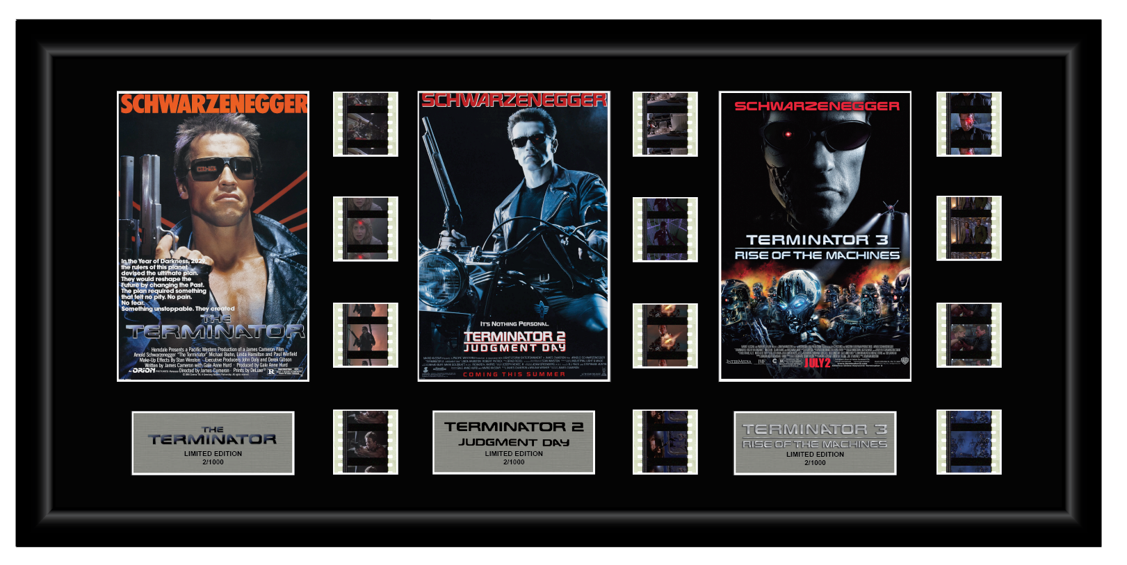 Terminator 1,2,3 - Triple 12 Cell Display
