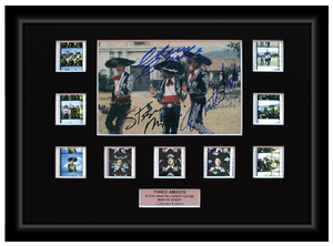 Three Amigos (1986) - 9 Cell Autographed Display