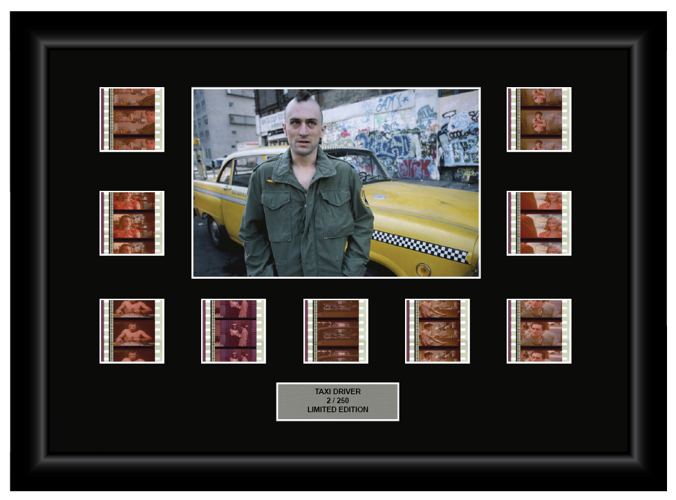 Taxi Driver (1976) - 9 Cell Display - ONLY 1 AT THIS PRICE