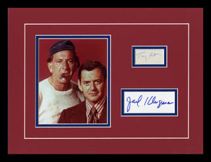 The Odd Couple Autographed Display