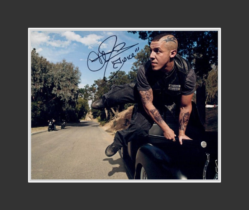 Theo Rossi Autograph - Actor | Sons of Anarchy | Luke Cage