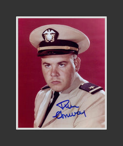 Tim Conway Autograph - Actor | McHale's Navy | Tim Conway Show | Carol Burnett Show