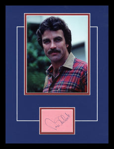 Tom Selleck Autographed Display
