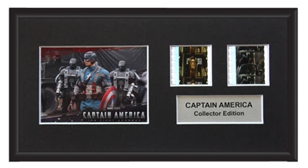 Captain America - 2 Cell Display (1)