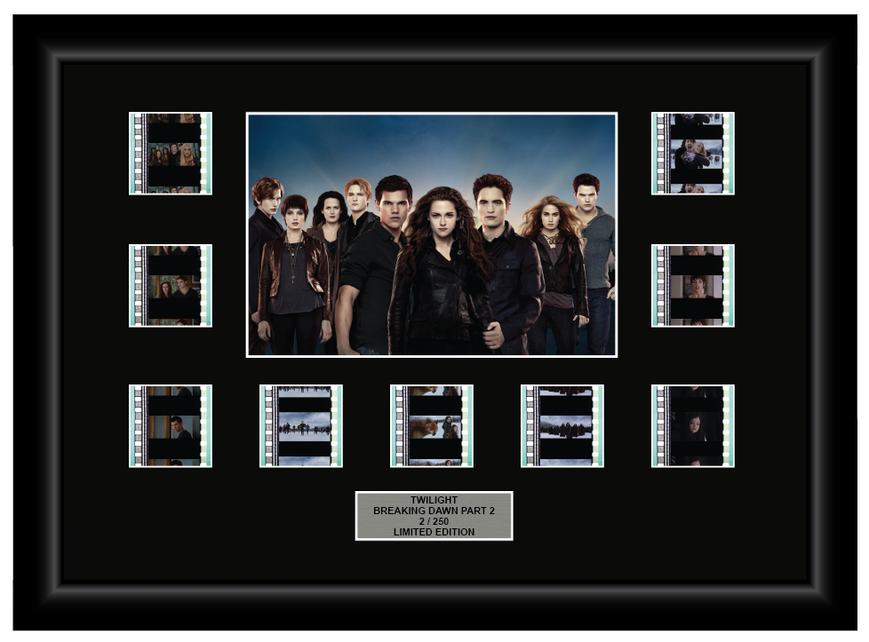 Twilight Saga: Breaking Dawn - Part 2 (2012) - 9 Cell Display