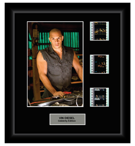 Vin Diesel CE 3 Cell Film Display - ONLY 1 AT THIS PRICE!