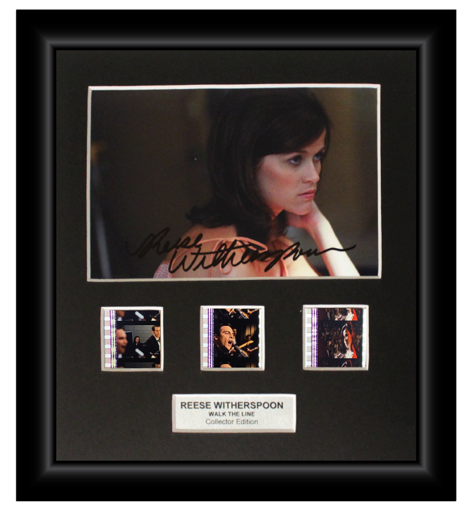 Walk the Line (2005)  - 3 Cell Autographed Display