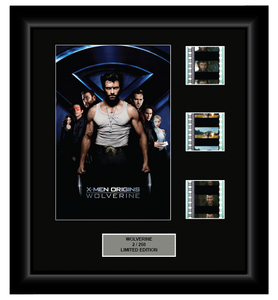 X-Men Origins: Wolverine (2009) - 3 Cell Display