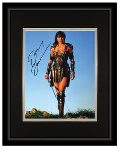 Xena: Princess Warrior (Lucy Lawless) - 11x14 Autographed Display