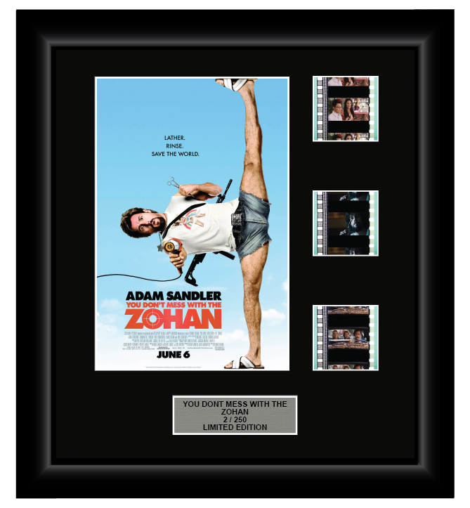 You Don't Mess with the Zohan (2008) - 3 Cell Display