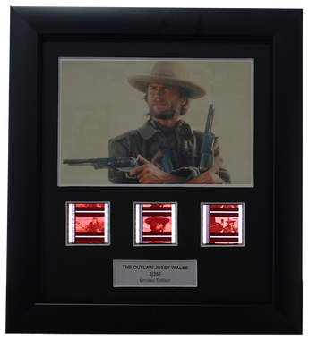 Outlaw Josey Wales, The (1976) - 3 Cell Display - Clint Eastwood Collection