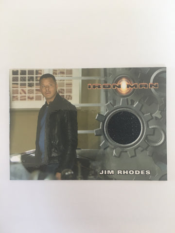 IRON MAN COSTUME (JIM RHODES) - Limited & Rare Trading Card