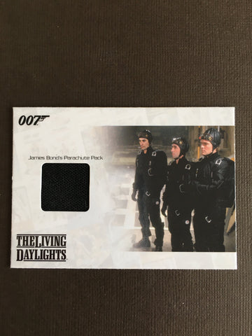 THE LIVING DAYLIGHTS (PARACHUTE PACK) - Limited & Rare Trading Card